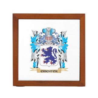 Crichton Coat of Arms - Family Crest Pencil Holder