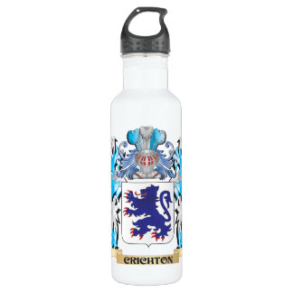 Crichton Coat of Arms - Family Crest 710 Ml Water Bottle