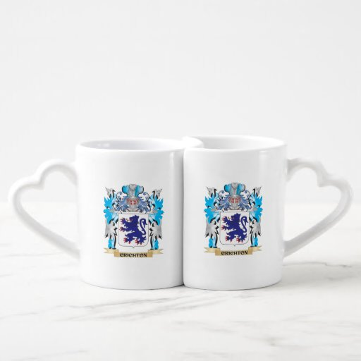 Crichton Coat of Arms - Family Crest Lovers Mug Sets
