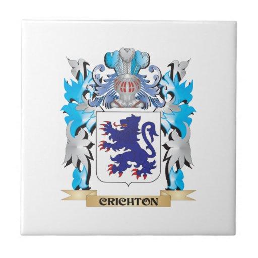 Crichton Coat of Arms - Family Crest Tiles