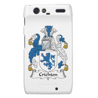 Crichton Family Crest Motorola Droid RAZR Cover