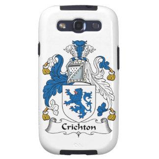 Crichton Family Crest Samsung Galaxy S3 Case