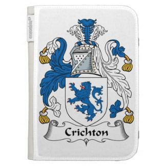 Crichton Family Crest Kindle 3 Case