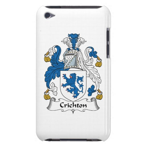 Crichton Family Crest Barely There iPod Cover