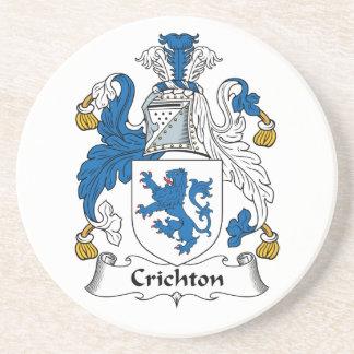 Crichton Family Crest Drink Coaster