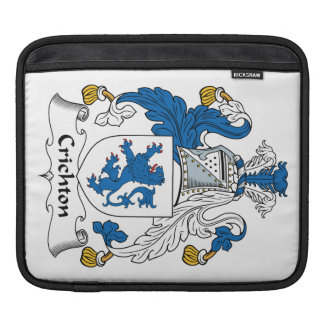 Crichton Family Crest Sleeve For iPads