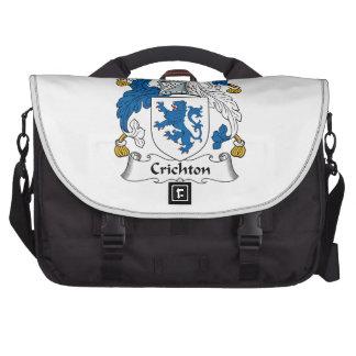 Crichton Family Crest Laptop Commuter Bag