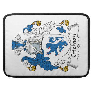 Crichton Family Crest MacBook Pro Sleeves
