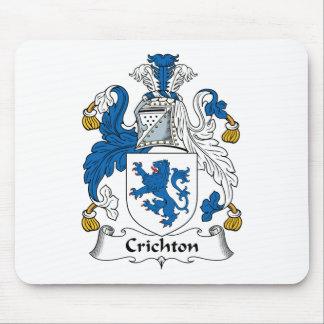 Crichton Family Crest Mouse Pads