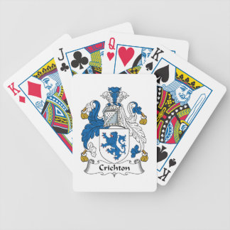 Crichton Family Crest Playing Cards