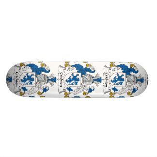Crichton Family Crest Skateboard