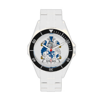 Crichton Family Crest Wristwatch