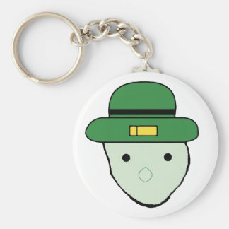 Crichton Leprechaun Keyring Basic Round Button Key Ring