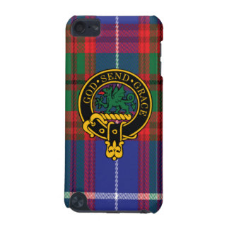 Crichton Scottish Crest and Tartan iPod Touch5 iPod Touch 5G Cases