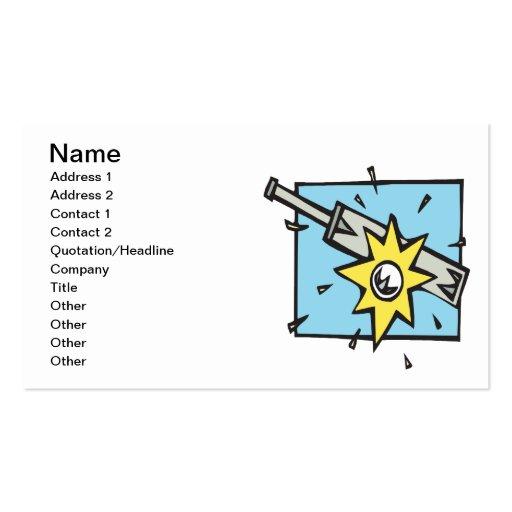 Cricket 3 business card template