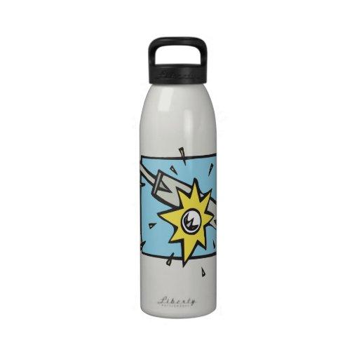 Cricket 3 reusable water bottles