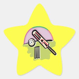 Cricket 4 star sticker