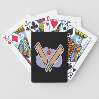 Cricket 5 bicycle card decks