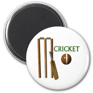 Cricket 6 Cm Round Magnet