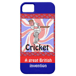 Cricket, a great British invention iPhone 5 Cover