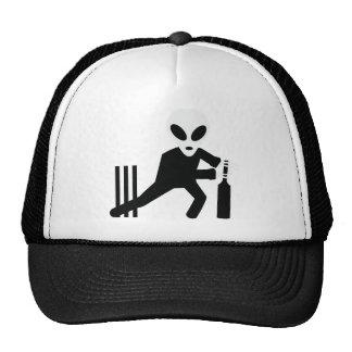 cricket alien icon cap