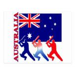 Cricket Australia Post Cards