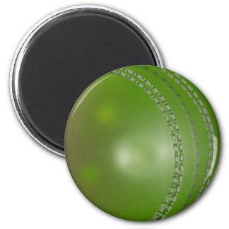 CRICKET BALL 2 6 CM ROUND MAGNET