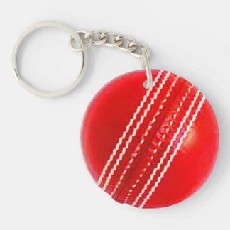 """""""Cricket ball"""" design gifts and products Key Ring"""