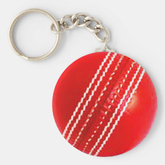 """Cricket ball"" design jewelry set Key Ring"