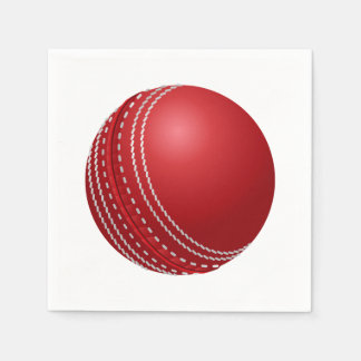 Cricket Ball Father's Day Party Paper Napkins