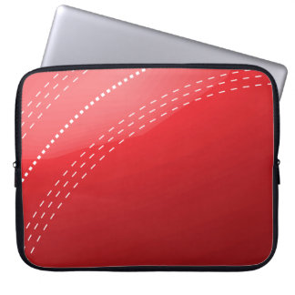 Cricket Ball Laptop Sleeve
