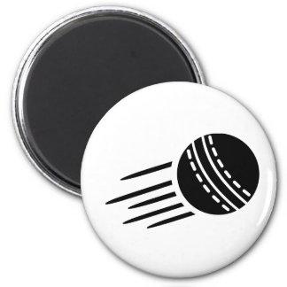 Cricket ball fridge magnets