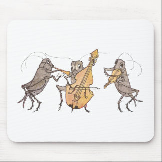 Cricket Band with Horn, Cello & Violin Mouse Mat