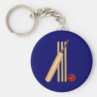 Cricket Basic Round Button Key Ring