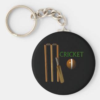 Cricket Basic Round Button Key Ring