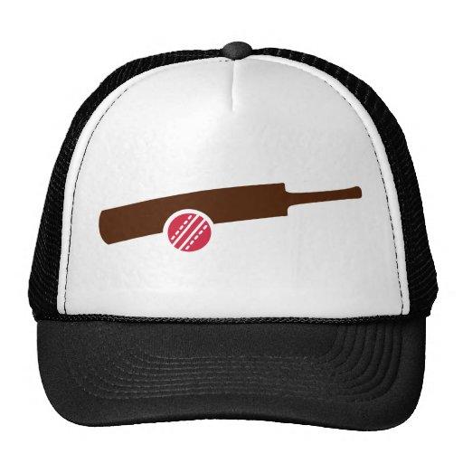 Cricket bat ball mesh hats