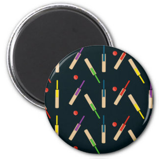 Cricket Bats and Balls Magnet