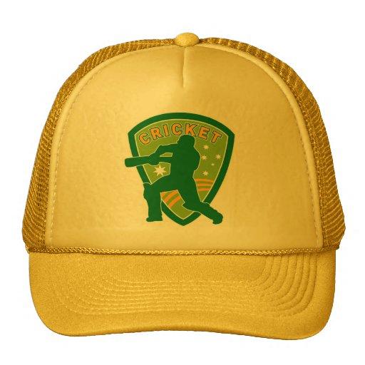 cricket batsman batting australia stars hat