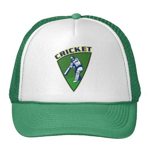 cricket batsman batting shield mesh hat