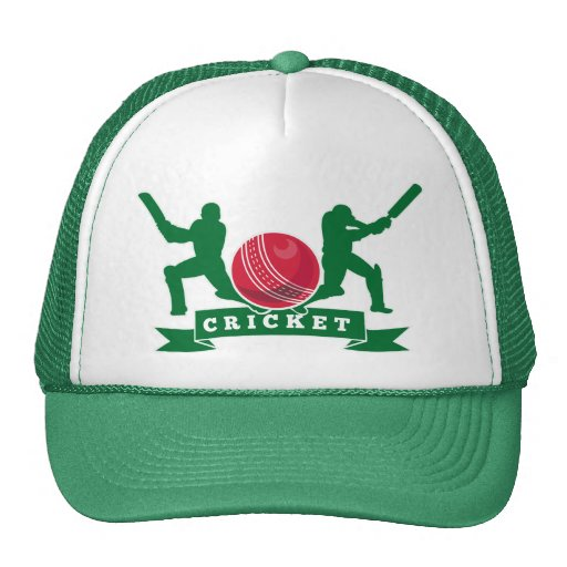 cricket batsman silhouette batting ball hats