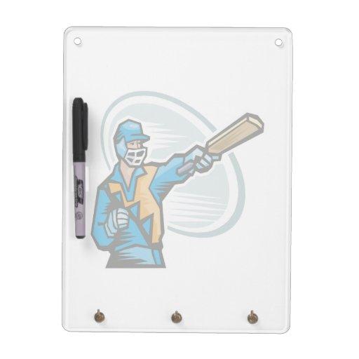 Cricket Batter 2 Dry Erase Whiteboards