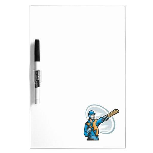 Cricket Batter 2 Dry-Erase Whiteboards