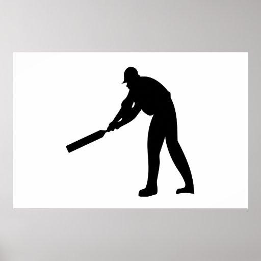 Cricket Batter Poster