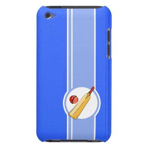 Cricket; blue Case-Mate iPod touch case