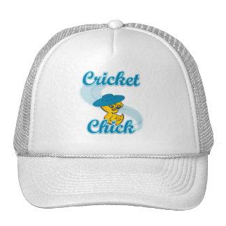 Cricket Chick #3 Hat