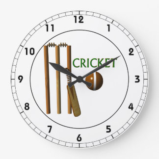 Cricket Wallclocks