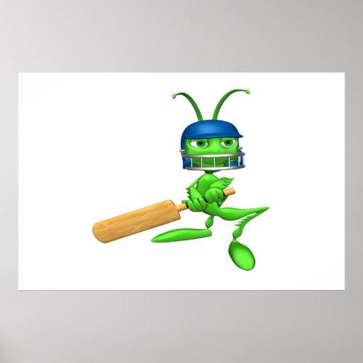 Cricket Cricket Print