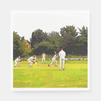 CRICKET DISPOSABLE SERVIETTE