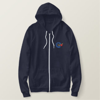 Cricket Embroidered Hoodie