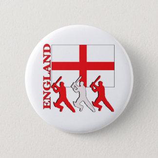 Cricket England 6 Cm Round Badge